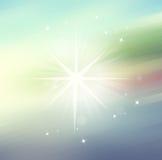 Star a luz, fundo do borrão do sumário para o design web, Imagem de Stock Royalty Free
