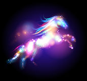 Star magic horse logo. Stock Images