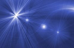 Star magical background Stock Photography