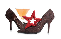 Star and martini Stock Photo