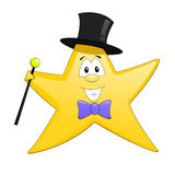 Star mascot Stock Images