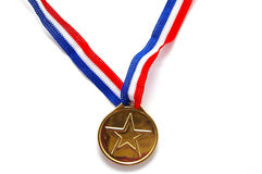Star medal Royalty Free Stock Photos