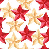 Star medal military seamless pattern texture background Stock Photography