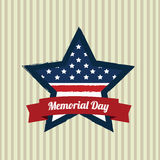 Star memorial day Stock Photos