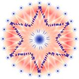 Star Merry Christmas 1 Stock Photos
