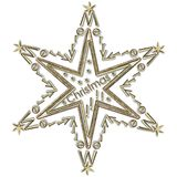 Star Merry Christmas Stock Photo