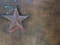 Star metal background Royalty Free Stock Images