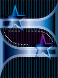 Star metal line background menu Royalty Free Stock Image