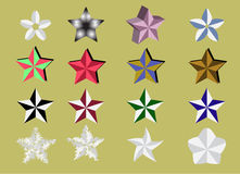 Star mix styles Royalty Free Stock Photography