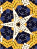 Star mosaic pattern Stock Image