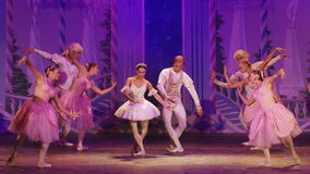 Star of the Moscow Ballet stock video