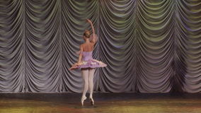 Star of the Moscow Ballet stock video footage