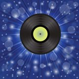 Star music background Stock Photo