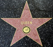 The star of the music group Queenn Royalty Free Stock Photos