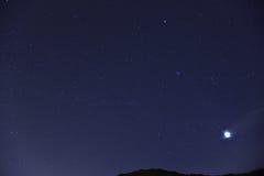 Star at night Royalty Free Stock Photo