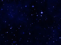 The star night sky Royalty Free Stock Image