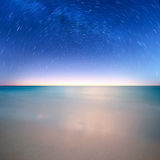 Star on ocean Stock Image