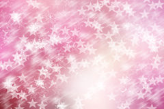 Free Star On Pink And White, Abstract Bokeh Background Royalty Free Stock Photography - 43898467