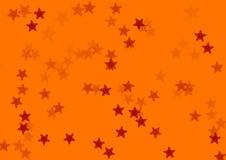 Star orange background Royalty Free Stock Image
