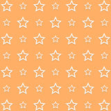 Star Orange Background icon great for any use. Vector EPS10. Stock Photo