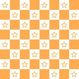Star Orange Background icon great for any use. Vector EPS10. Royalty Free Stock Images