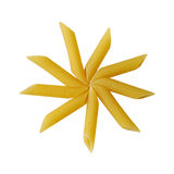 Star of the pasta Stock Images