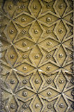 Star pattern. An ancient pattern carved from stone provides a versatile background royalty free stock images