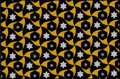 Star pattern background Stock Photography