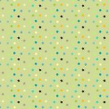 Star pattern background. Abstract background with a star pattern Stock Images