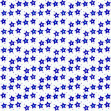 Seamless background  Star pattern Stock Images
