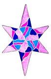 Star pattern. Stock Image