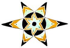 Star pattern. Royalty Free Stock Image