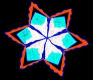 Star pattern. Royalty Free Stock Photo