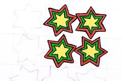 Star pattern. Stock Photo