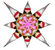 Star pattern. Stock Photography