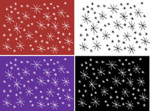 Star pattern Royalty Free Stock Image