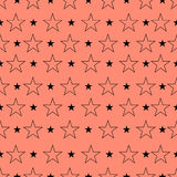 Star pattern, Star background. Star art. Vector illustration, ep Royalty Free Stock Photography