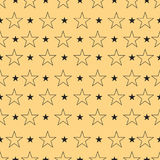 Star pattern, Star background. Star art. Vector illustration  Royalty Free Stock Photography
