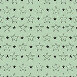 Star pattern, Star background. Star art. Vector illustration Stock Photos
