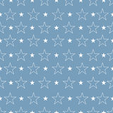 Star pattern, Star background. Star art. Vector illustration Stock Photo