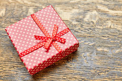 Star patterned gift box. Stock Photography