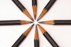 Star pencils Royalty Free Stock Image