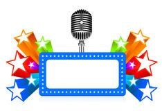 Star performance illustration Royalty Free Stock Image