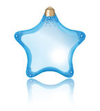 Star perfume bottle Stock Images