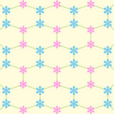 Star pink and blue with white wallpaper great for any use. Vector EPS10. Stock Photo