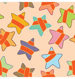 Star Presents Pattern Stock Images