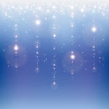 Star rain Royalty Free Stock Photo