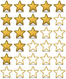 Star rating Stock Photos
