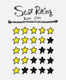 Star Rating Icons Stock Photos