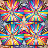 Star ray inside bright colorful seamless. This illustration is drawing star ray inside and bright with colorful seamless pattern stock photos